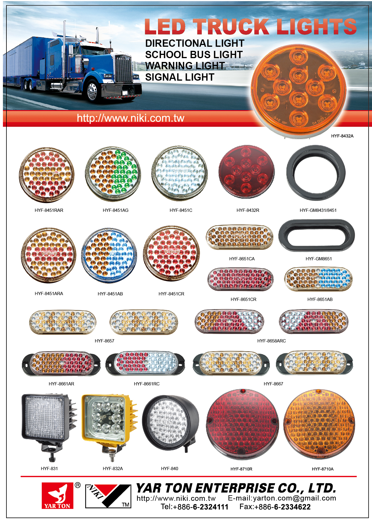 LED Turck Lights DM
