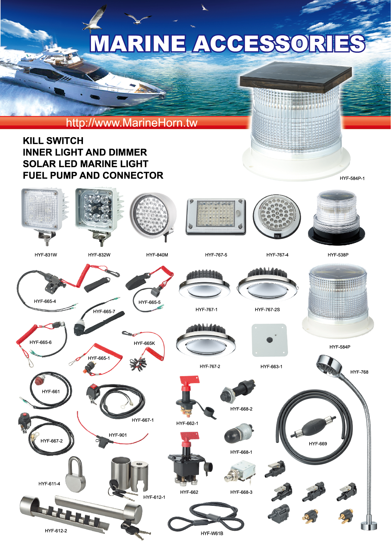 Marine Accessories DM