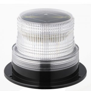 Solar Power LED Strobe Warning Lights (Low Profile)