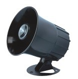 Backup Alarm and Siren Horn